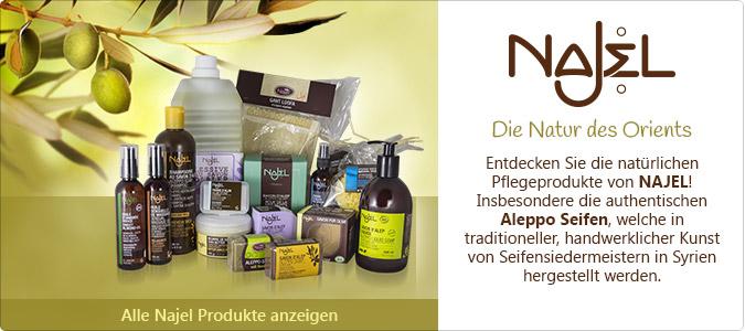 Najel Olivenöl Produkte