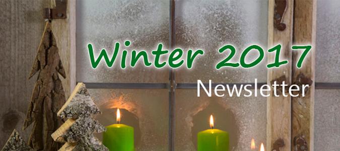 Newsletter Winter 2017