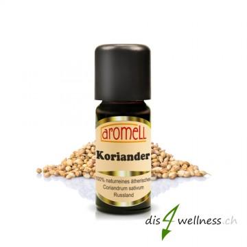 Aromell Ätherisches Korianderöl (10 ml) 100% naturrein