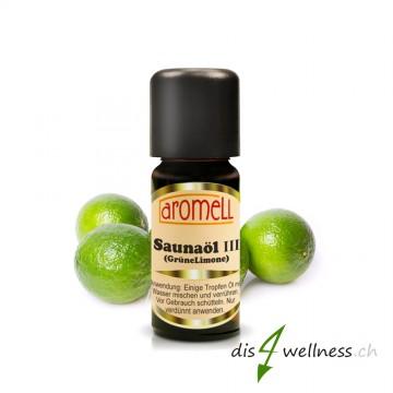 """Aromell Saunaöl III """"Grüne Limone"""""""