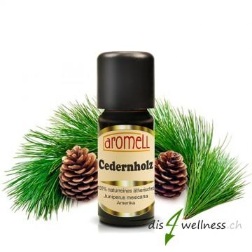Aromell Ätherisches Zedernholzöl (Juniperus virginiana)