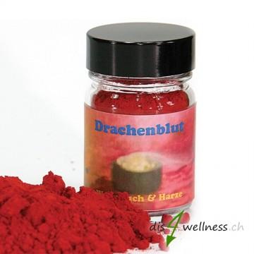 Drachenblut - Räucherharz von Aromell im Glas, 35g