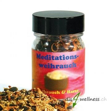 Meditationsweihrauch - Räuchermischung von Aromell