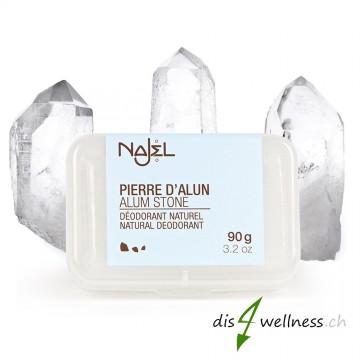 Najel Alaunstein - Naturkristall-Deodorant