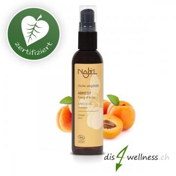 Aprikosenöl zur Haar- und Körperpflege von Najel, 80ml