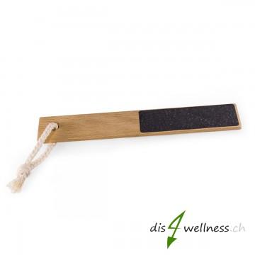 Redecker Fussfeile aus Holz, Hornhaut-Entferner