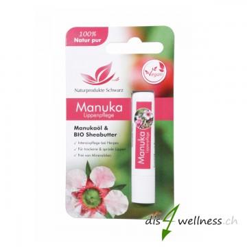 Manuka Lippenstift bei Herpes, Lippenherpes, vegan