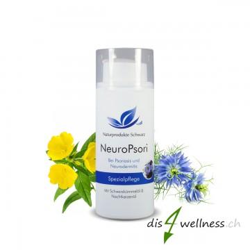 NeuroPsori Spezialpflege Creme - Pflege bei Neurodermitis und Schuppenflechte, 100 ml