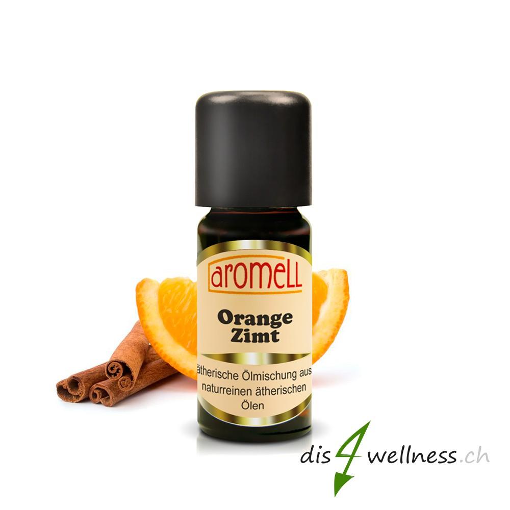 Aromell Ätherische Ölmischung Orange, Zimt (10 ml) 100% naturrein ...