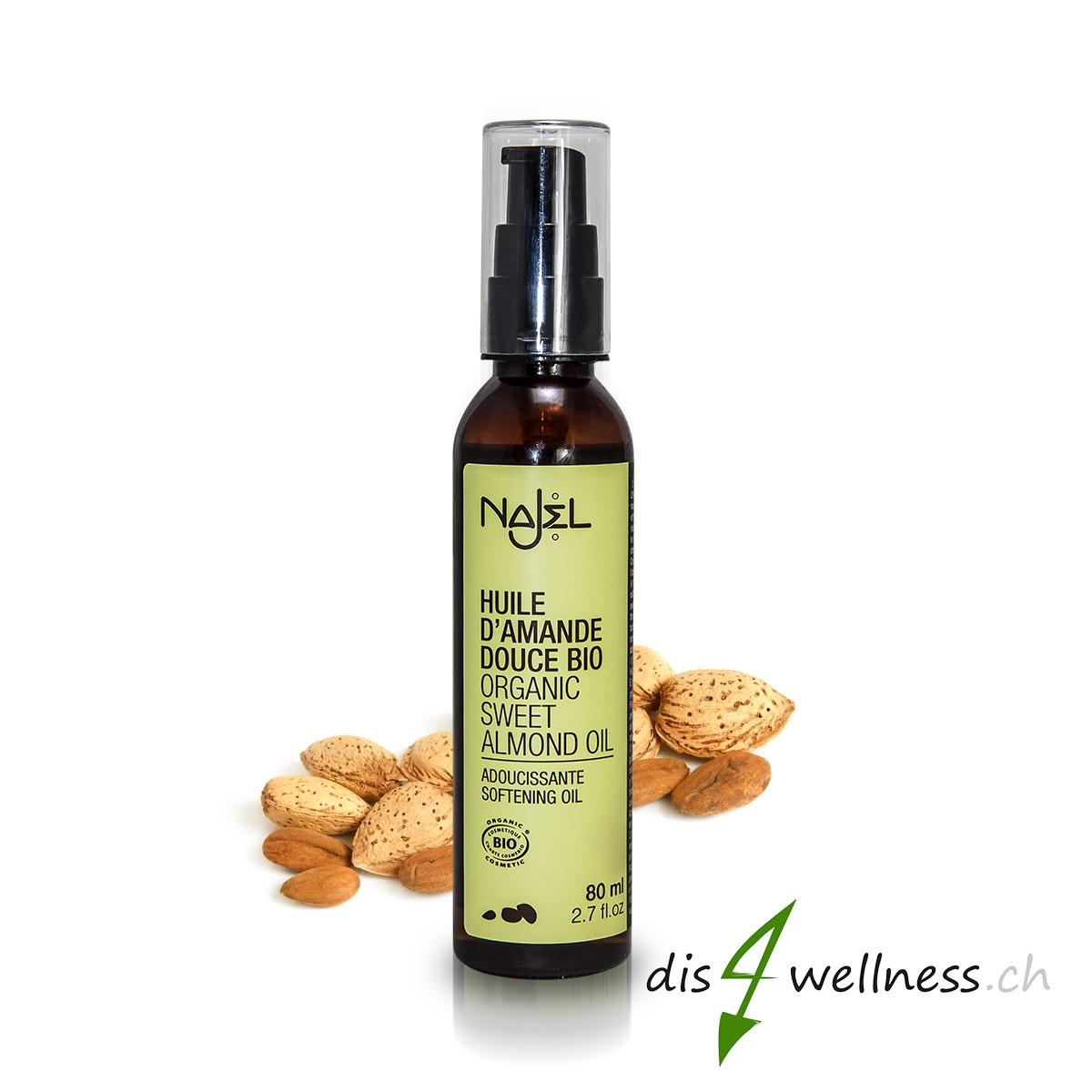 Najel Mandelöl - für Körper und Geist, zertifiziert