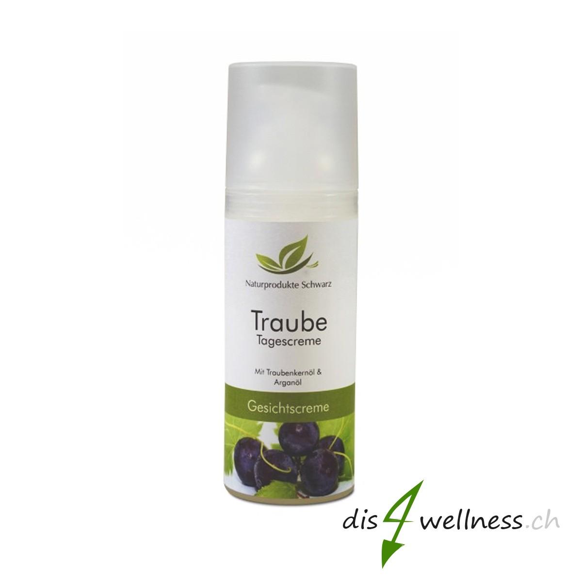Traubenkernöl Tagescreme mit Arganöl