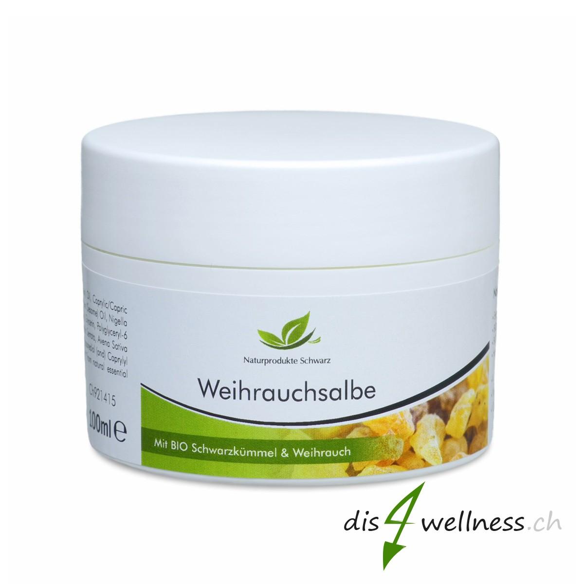Weihrauchsalbe - Mit BIO-Schwarzkümmelöl und Weihrauchöl
