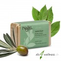 Najel Aleppo Olivenöl-Seife mit 12% Lorbeeröl (rect) 100g