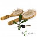 Redecker Haarbürsten-Set mit Holzstiften aus Olivenholz