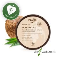 Najel Kokos-Pflegebalsam mit Olivenöl und Sheabutter, für Haut & Haar, 100g