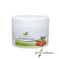 Mandelölcreme - mit Ringelblume und Hamamelis, für jeden Hauttyp, 50 ml