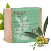 Najel Aleppo-Seife mit 30% Lorbeeröl, 200 g