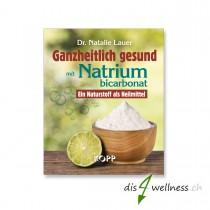 """Buch """"Ganzheitlich gesund mit Natriumbicarbonat"""" (Natron) - Dr. Natalie Lauer"""