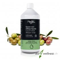 Najel Flüssige Schwarze Olivenöl Aleppo