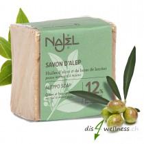 Najel Aleppo-Seife mit 12% Lorbeeröl