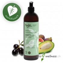 Natürliches Shampoo trockenes Haar