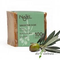 Najel Aleppo-Seife mit reinem Olivenöl, 200g