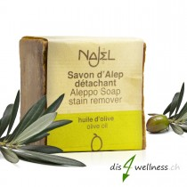 Aleppo-Seife Fleckenentferner Olivenöl von NAJEL, 200g