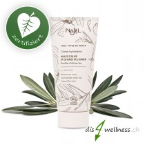 NAJEL Olivenblatt-Gesichtscreme, Feuchtigkeitspflege, zertifiziert, 50 ml