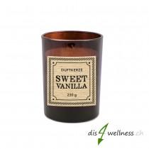 "Pajoma - Braunglaskerze Apothecary ""Sweet Vanilla"""
