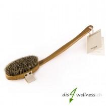 Redecker Badebürste Naturborsten mit Stiel