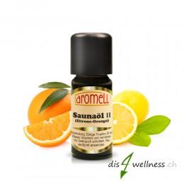 """Ätherische Ölmischung Saunaöl II """"Zitrone-Orange"""""""