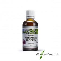 Artemisia annua (Beifuss) Tropfen von Kräuter Lötsch, 50ml