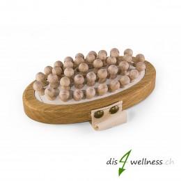 Anti-Cellulitebürste aus Holz