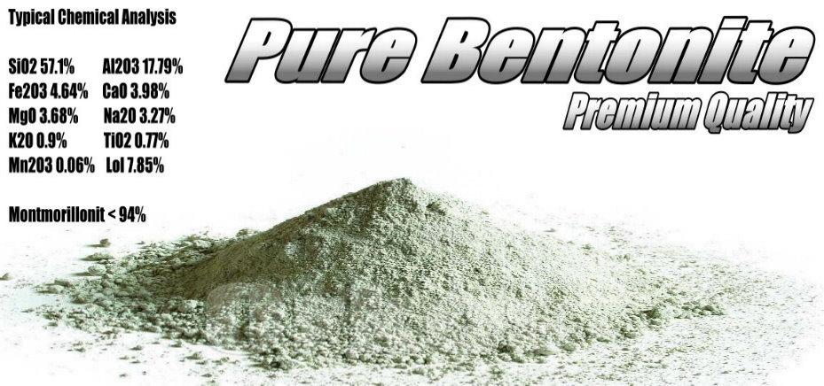 Bentonite - Bentonitpulver